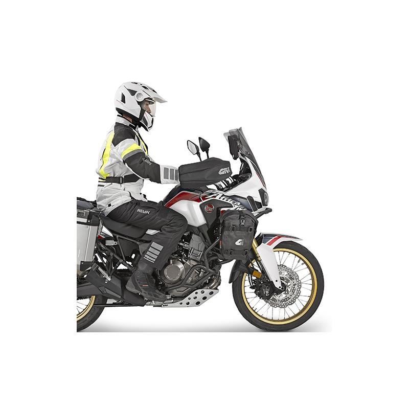 Manchons de guidon Givi pour moto équipée de protège-mains - 1