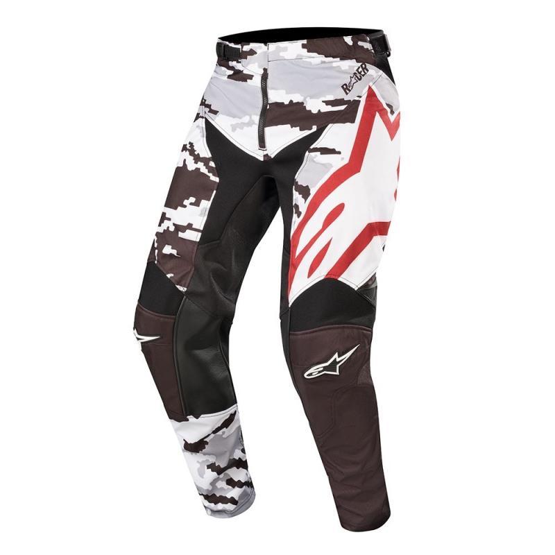 Pantalon cross Alpinestars Racer Tactical noir/vert camo
