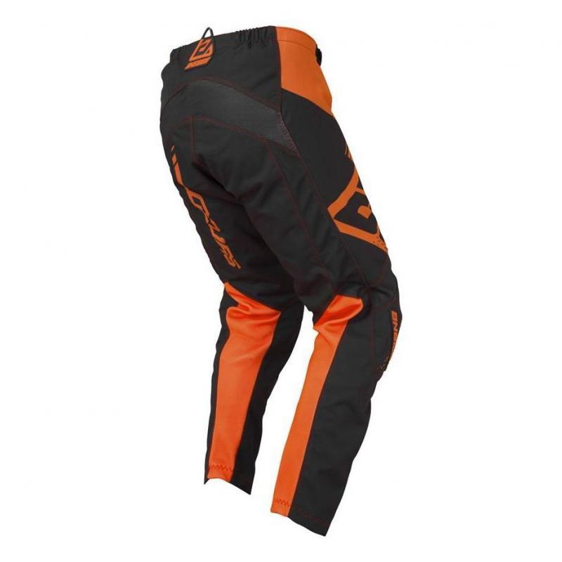 Pantalon cross enfant Answer Syncro Drift orange fluo/charcoal - 2