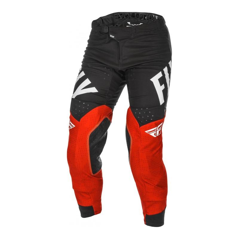 Pantalon cross Fly Racing Evolution DST rouge/noir/blanc