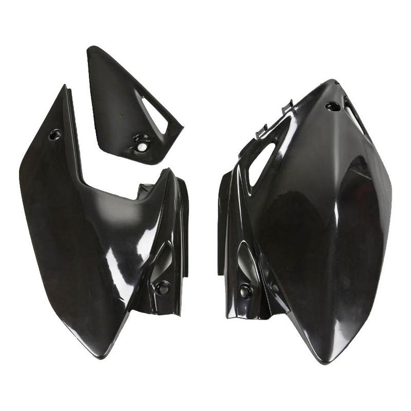 Plaque numéro latérale UFO Honda CRF 450X 04-13 noir