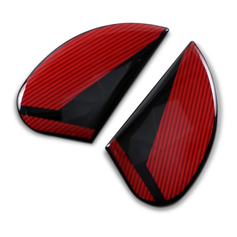 Plaques latérale Icon pour casque Airform Conflux rouge