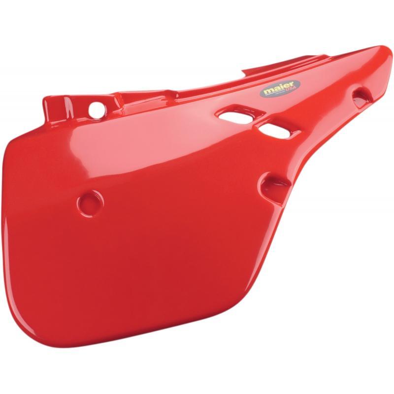 Plaques latérales Maier USA Honda CR 125R 87-88 rouge
