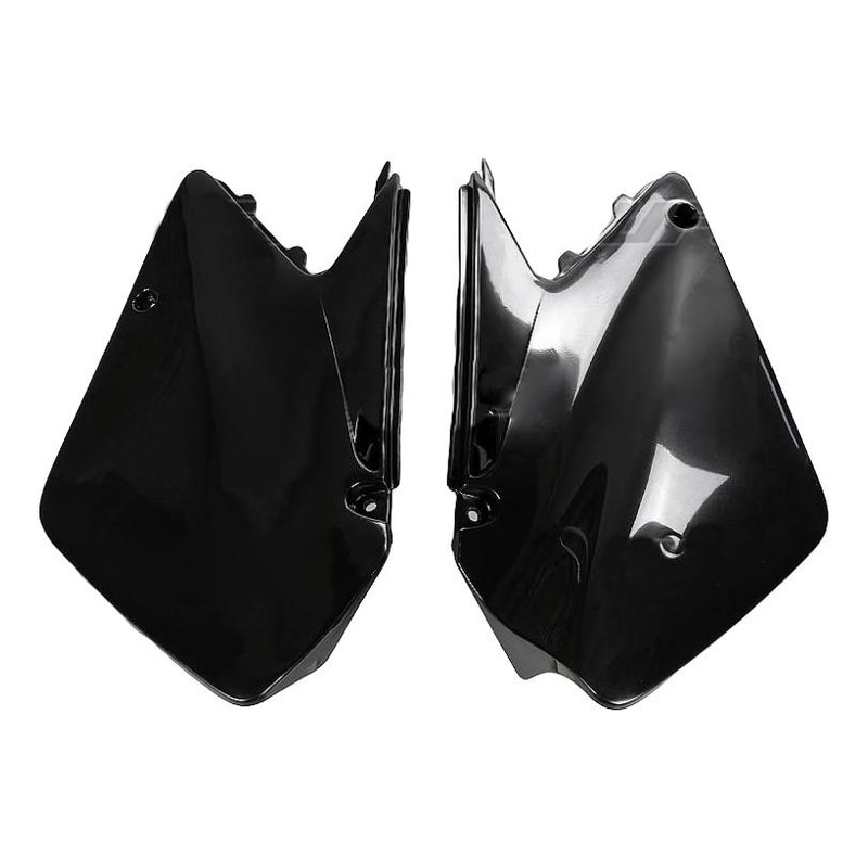 Plaques numéro latérales UFO Suzuki 250 RM 03-12 noir