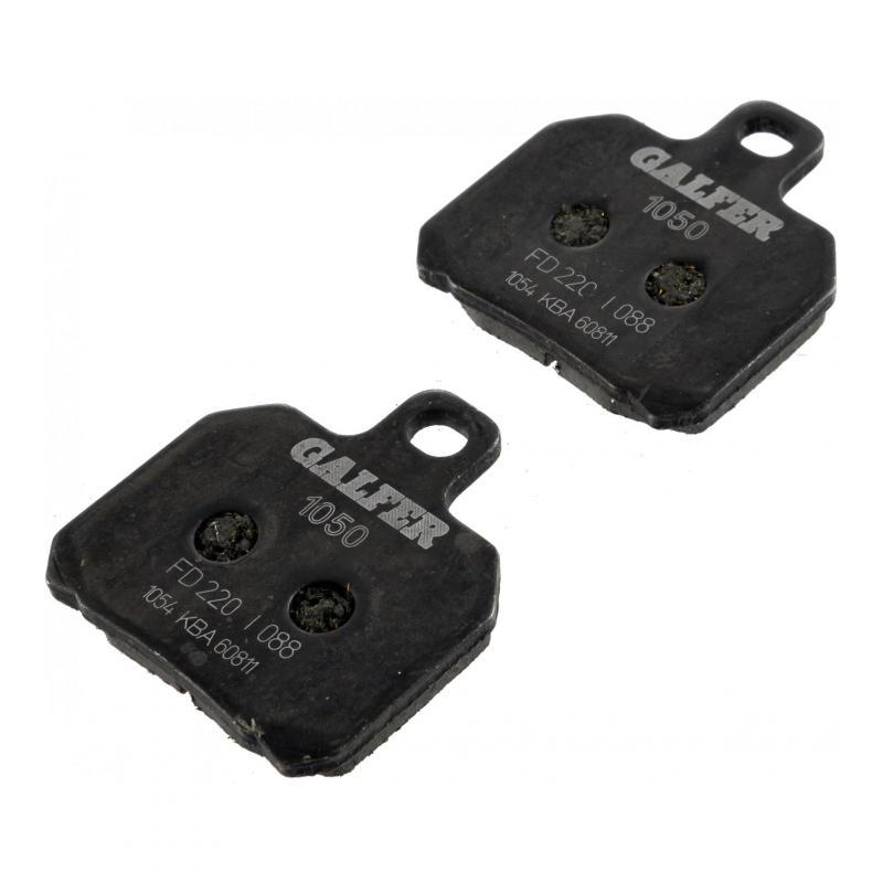 Plaquettes de frein Galfer G1050 semi-métal FD220 - 1