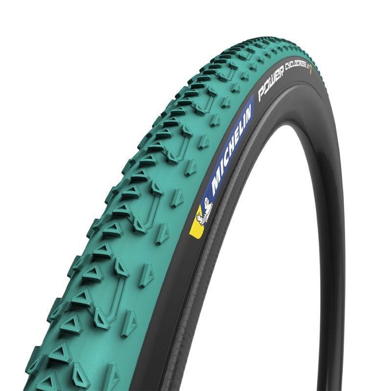Pneu vélo cyclocross Michelin Cyclocross Jet TS vert (700 X 33C)