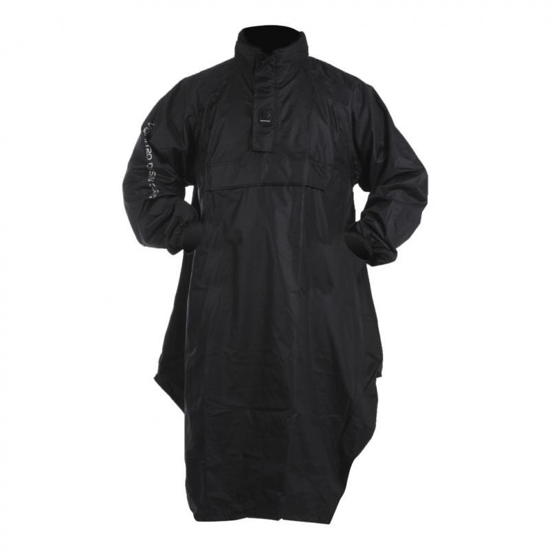 Poncho de pluie V'Quattro VELUM noir - 1