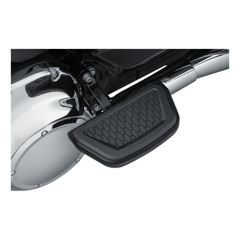 Repose pieds plateau Hex passager Kuryakyn Harley Davidson noir