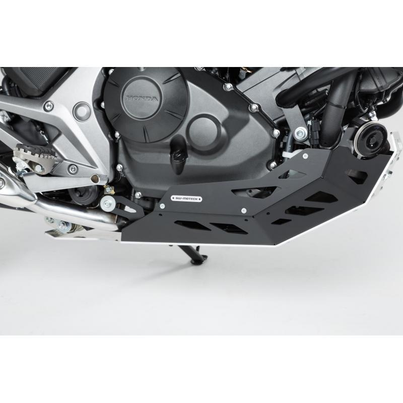Sabot moteur SW-MOTECH noir / gris Honda NC700 / NC750 sans DCT - 2