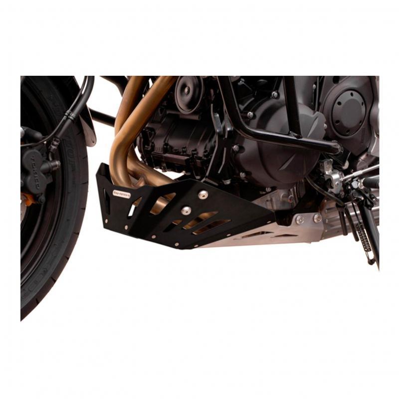 Sabot moteur SW-MOTECH noir Kawasaki Versys 650 07-14