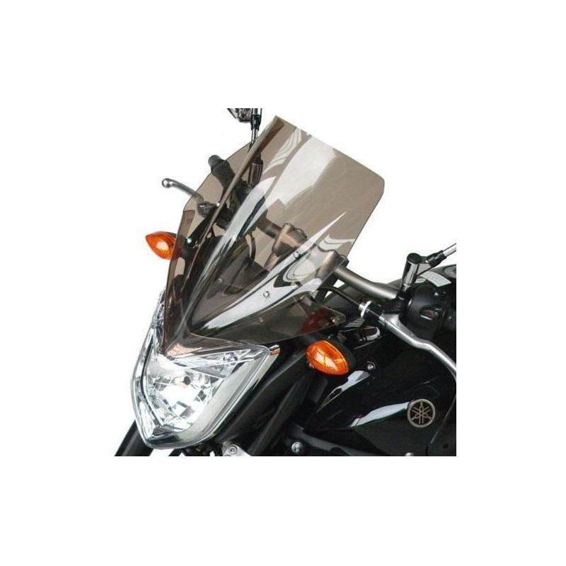 Saute-vent Bullster haute protection 39 cm fumé noir Yamaha FZ1 N 06-15
