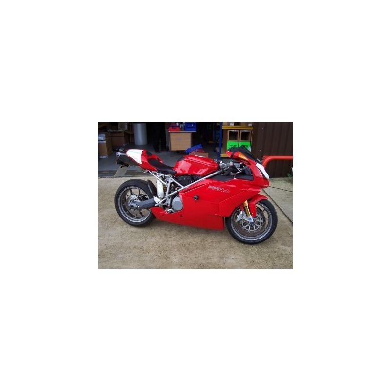 Tampons de bras oscillant diabolos R&G Racing noir Ducati 999 03-06