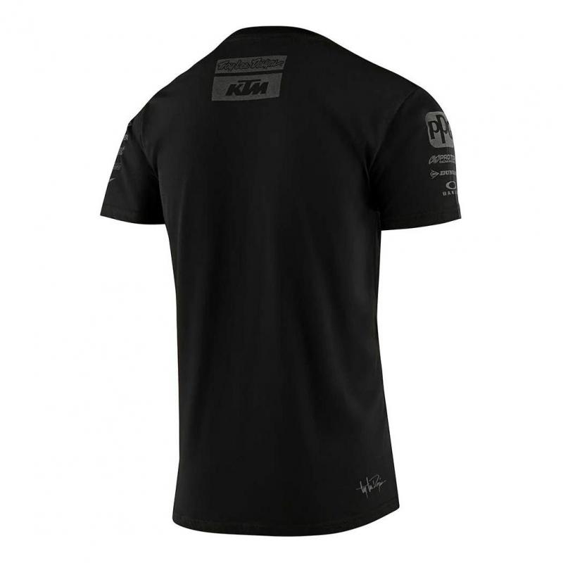 Tee-shirt Troy Lee Designs Team KTM 2020 noir - 1