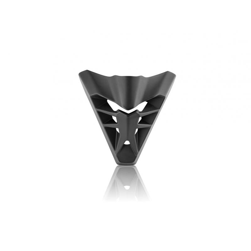 Ventilation avant Acerbis pour casque Profile 3.0 noir mat