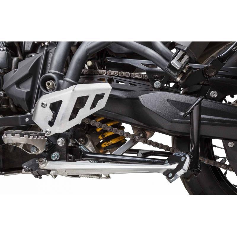 Extension de béquille latérale SW-MOTECH noir / gris Triumph Tiger 800 10- - 3