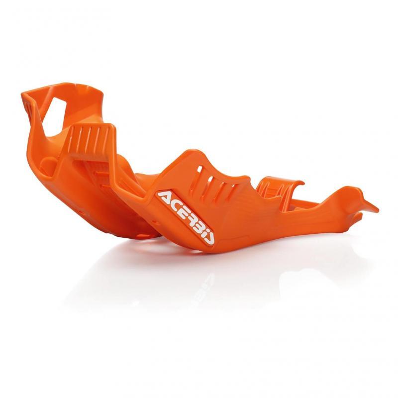 Sabot moteur Acerbis KTM 250 EXC 250 TPI 2020 orange