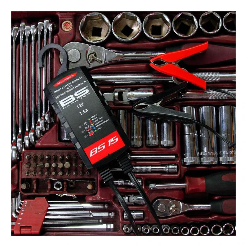 Chargeur de batterie intelligent BS Battery BS15 - 5