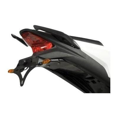 Support de plaque d'immatriculation R&G Racing noir Honda CBR 125 R 11-17