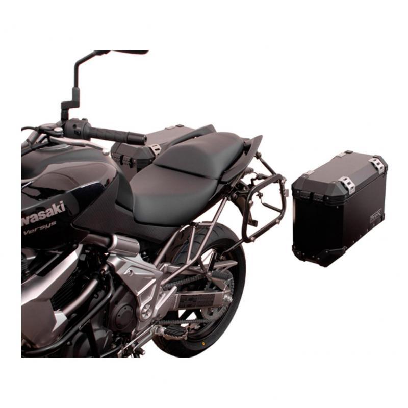 Support pour valise SW-MOTECH QUICK-LOCK EVO noir Kawasaki Versys 650 07-14