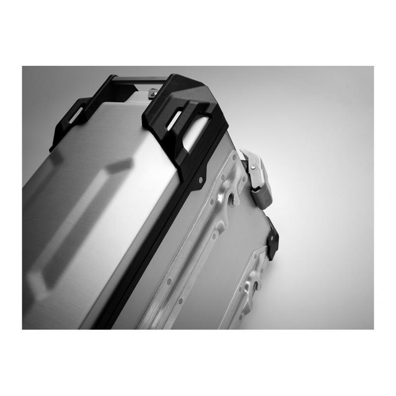 Valise latérale SW-MOTECH TRAX ADV L 45L côté gauche gris - 4