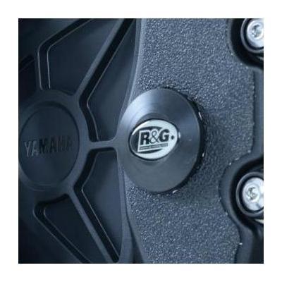 Insert de cadre R&G Racing inférieur gauche noir Yamaha YZF-R1 15-18