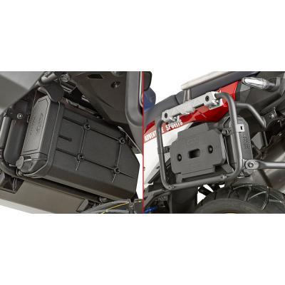 Kit fixation pour Tool Box Givi sur supports PLR1161/PL1161CAM Honda CRF 1000L Africa Twin 2018