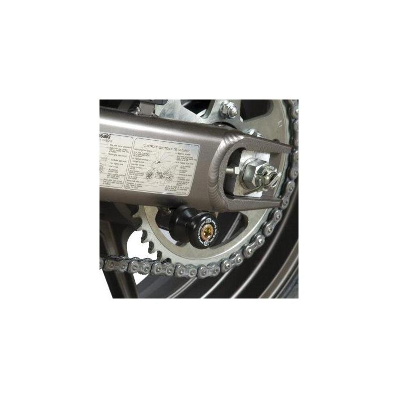 Diabolos de bras oscillant R&G Racing noir ØM10 Kawasaki Z 1000 03-09