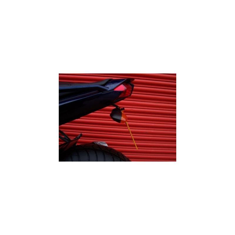 Support de plaque d'immatriculation R&G Racing noir Yamaha FZ1 06-15