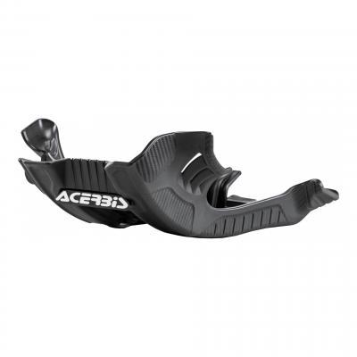 Sabot moteur Acerbis Yamaha 125 YZ 06-20 noir/blanc