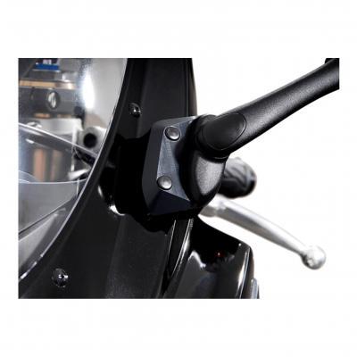 Extensions de rétroviseur SW-MOTECH Profile noir Suzuki GSX-R 600 / 750