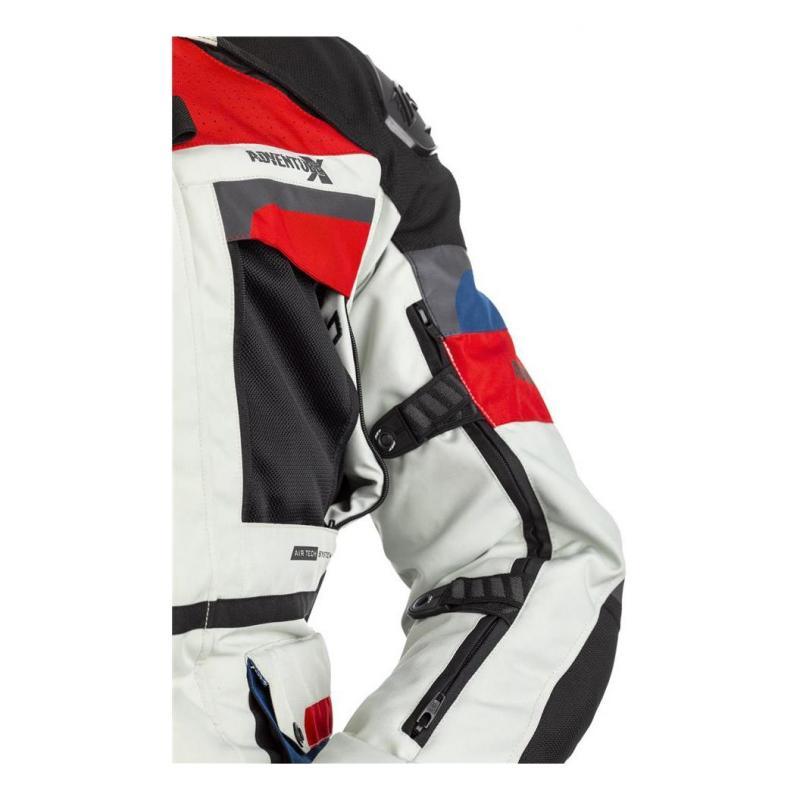Veste textile RST Adventure-X Ice/bleu/rouge - 6