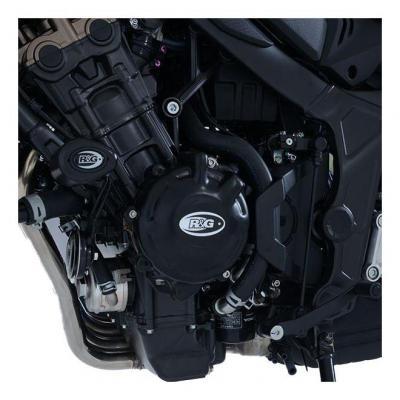 Couvre carter gauche (alternateur) R&G Racing noir Honda CB 650 R Neo Sport Cafe 19-20