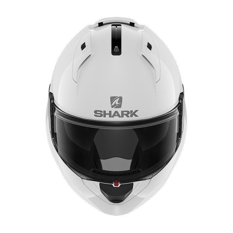 Casque modulable Shark EVO ES Blank blanc azur - 3