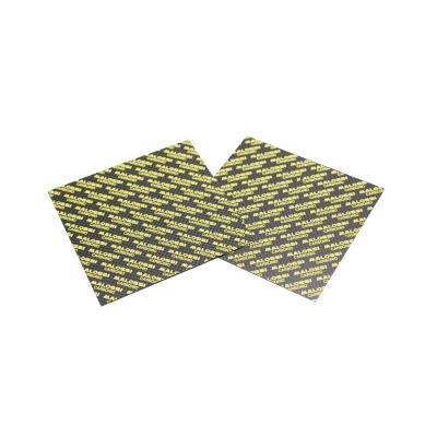 2 Plaques Carbone Malossi à découper 100x100mm