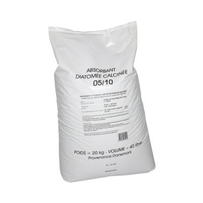 Absorbant hydrocarbure Minerva 20kg de granules