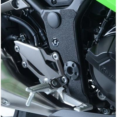 Adhésif anti-frottements R&G Racing noir cadre Kawasaki Ninja 300 13-17