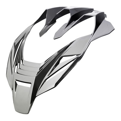 Airfoil Icon pour casque Airflite argent