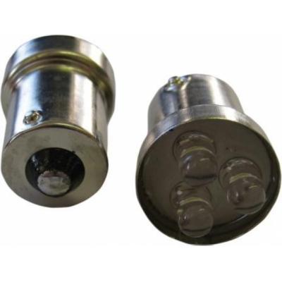 Ampoule à LED 12 Volts 5W BA15S (3 LEDS)