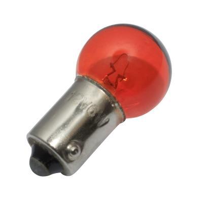 Ampoule clignotant 12V 6W BA9S G14.5 orange