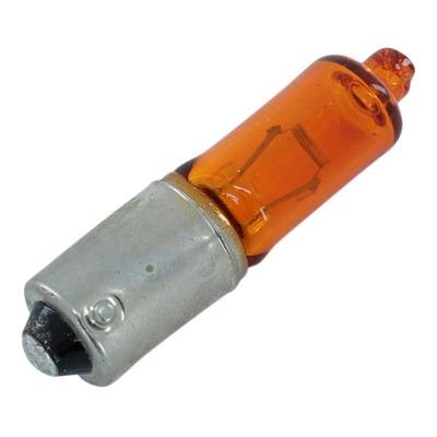 Ampoule clignotant orange 12v 21w BAX9S Ergots décalés