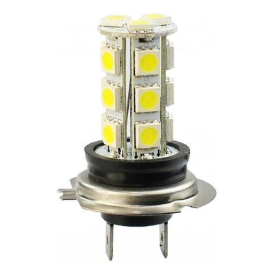 Ampoule LED H7 blanc 12V 4.32W - 18 x SMD5050