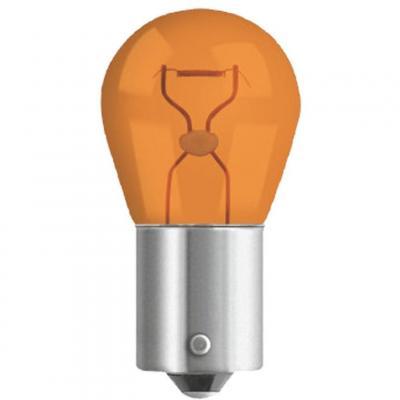Ampoule Neolux 12V-21W BAU15S avec ergot décalé orange