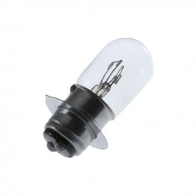 Ampoule P15D-25-1 T19 12V 25/25W Transparent