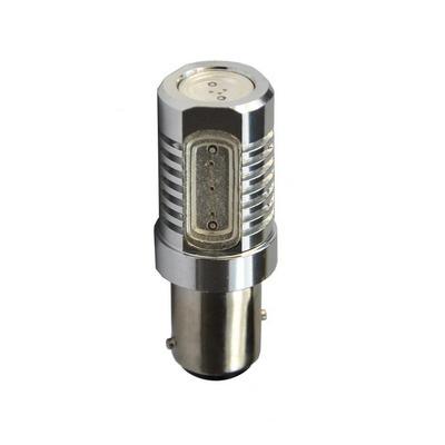 Ampoule rouge High Power à LED 12V S25 BAY15D P21/5W 6.00W 4 x 1.5W