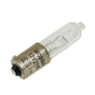Ampoule Vicma BAX9S P21W mini clignotant 12V 21W Transparent