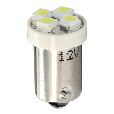 Ampoules à LED blanc T4W BA9S 12V 0.32W