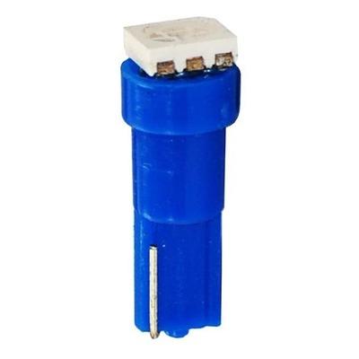 Ampoules à LED bleu T5 12V 0.24W