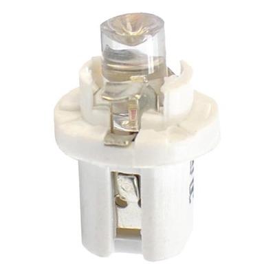 Ampoules à LED flux concave blanc T5 B8.5D 12V 0.2W