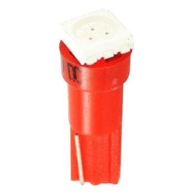 Ampoules à LED rouge T5 12V 0.24W