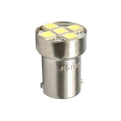 Ampoules blanche à LED 12V S25 BA15S R5W 12V 1.20W 5 x SMD 5050